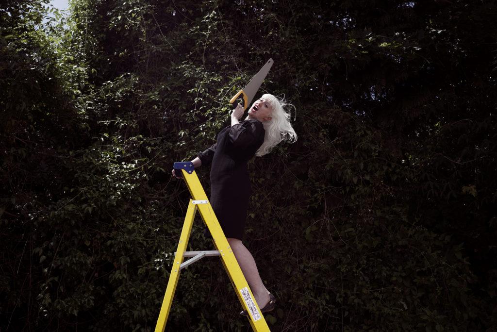 Jo Bannon, Stepladder. Photo by Paul Samuel White